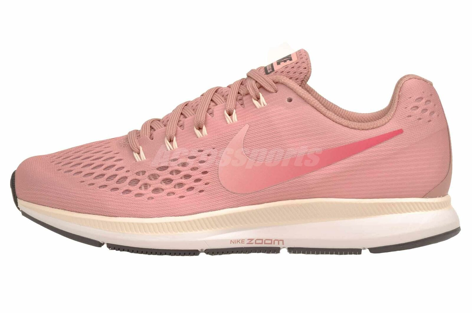 Nike W Air Zoom  Pegasus 34 (Wide) Running Womens shoes Rust Pink 880561-606  hot sale