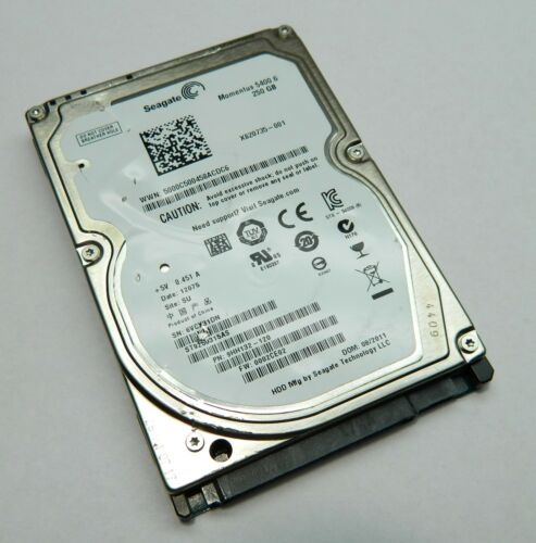 QE3533N2 9HH132-022 Seagate Momentus 5400.6 250GB  2.5 Hard Drive