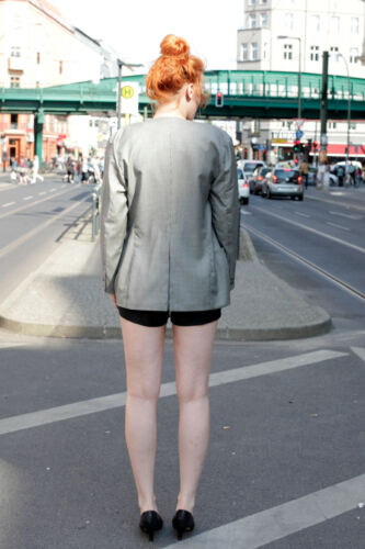 Gianni Blazer 80's Noir Versace Blanc Vintage Femmes True Pepita 80's Veste qIRIOw