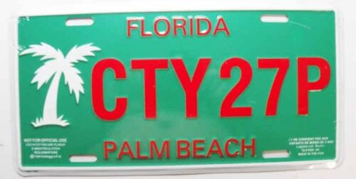 546 Plaque Immatriculation Florida