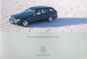 Mercedes-E-Klasse-T-Modell-Prospekt-12-02-brochure-2002-220-320-240-270-CDI-Auto