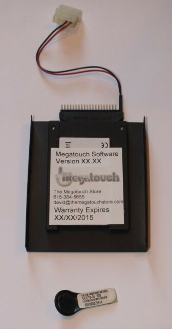 Merit Megatouch Force 2011 Upgrade Update Kit 2011 - Key & Hard Drive included