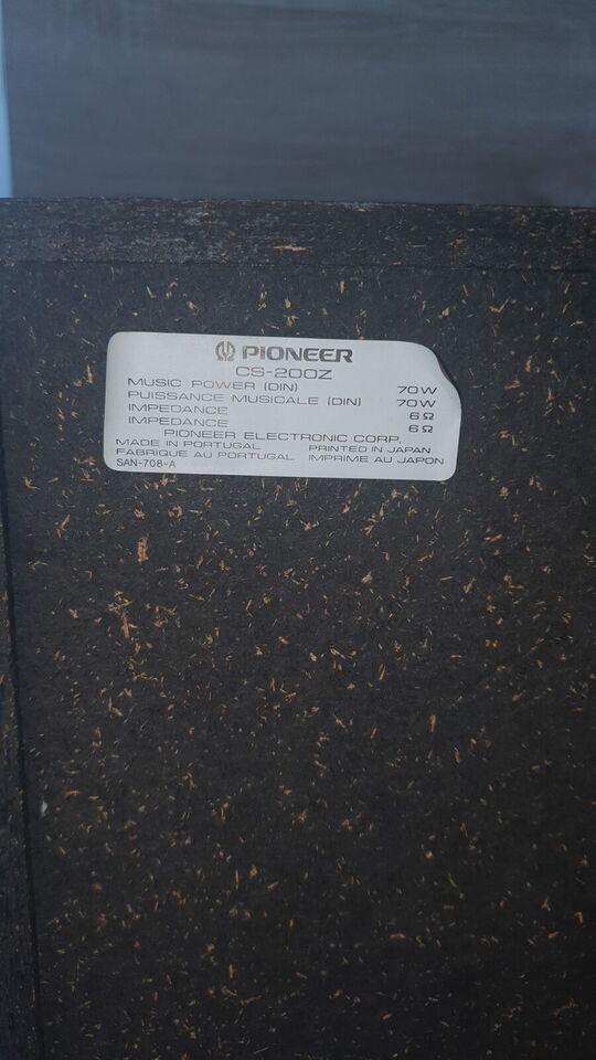 Højttaler, Pioneer, Cs-200z
