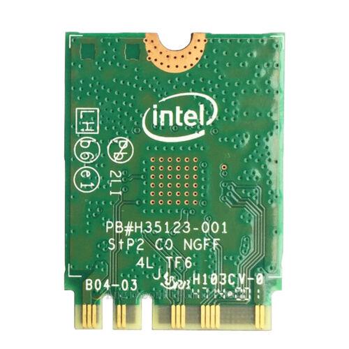 HP Probook 450 G3 Intel 3165AC 3165NGW 433Mbps 2.4//5GHz BT 4.0 WIFI WLAN Card