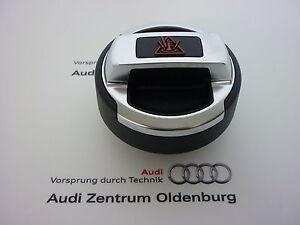 Audi-originales-r8-cierre-tapa-para-refrigerante-recipiente-tapa-de-cierre-cromo