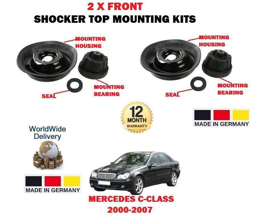 Für Mercedes C200 C220 C270 C30 C320 Cdi 2000-   2 X Vordere Schocker