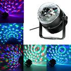 LED RGB DJ Club Disco Party Magic Ball Crystal Effect Light Stage Lighting 3W