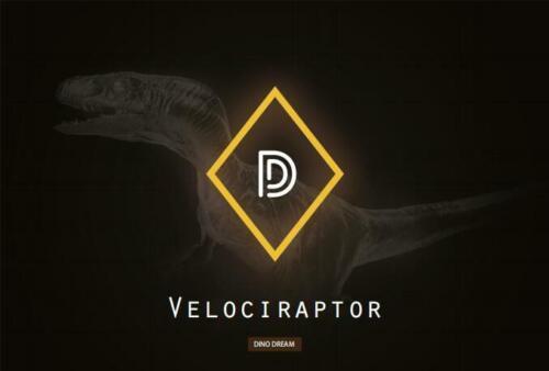 DINO DREAM Tyrannosaurus T Rex /& Velociraptor GK Dinosaur Figure Collector Gift