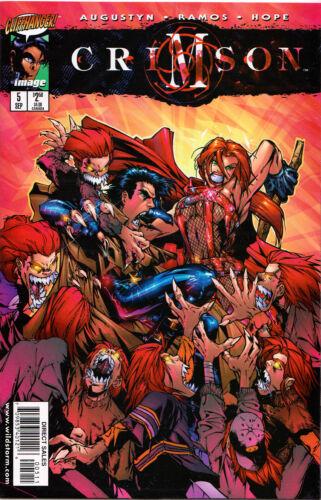 CRIMSON COMIC BOOKS ~ Cliffhanger ~ Humberto Ramos Madureira J Scott Campbell