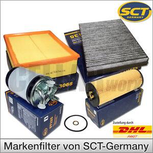 Audi A6 4B 2.5 TDI V6 | 4-tlg. Inspektionspaket Filterset Filtersatz Filterkit