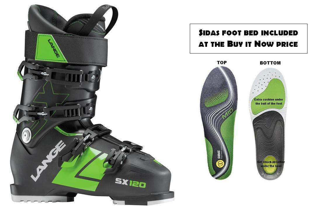 Lange SX120 ski Stiefel Größe 26.5 (incl FOOTBED at Buy It NOW price) NEW 2018