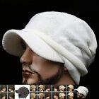 RASTA AA CREAM white dreadlocks Knit Skull Beanie Newsboy Cap Fashion Hat Unisex