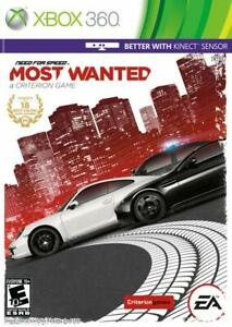 Need for Speed: Most Wanted Limited Edition (Microsoft Xbox 360, 2012)
