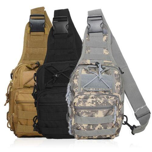 HOT Unisex Fany Pack Single Shoulder Bag Tactical Messenger Crossbody Chest Bags