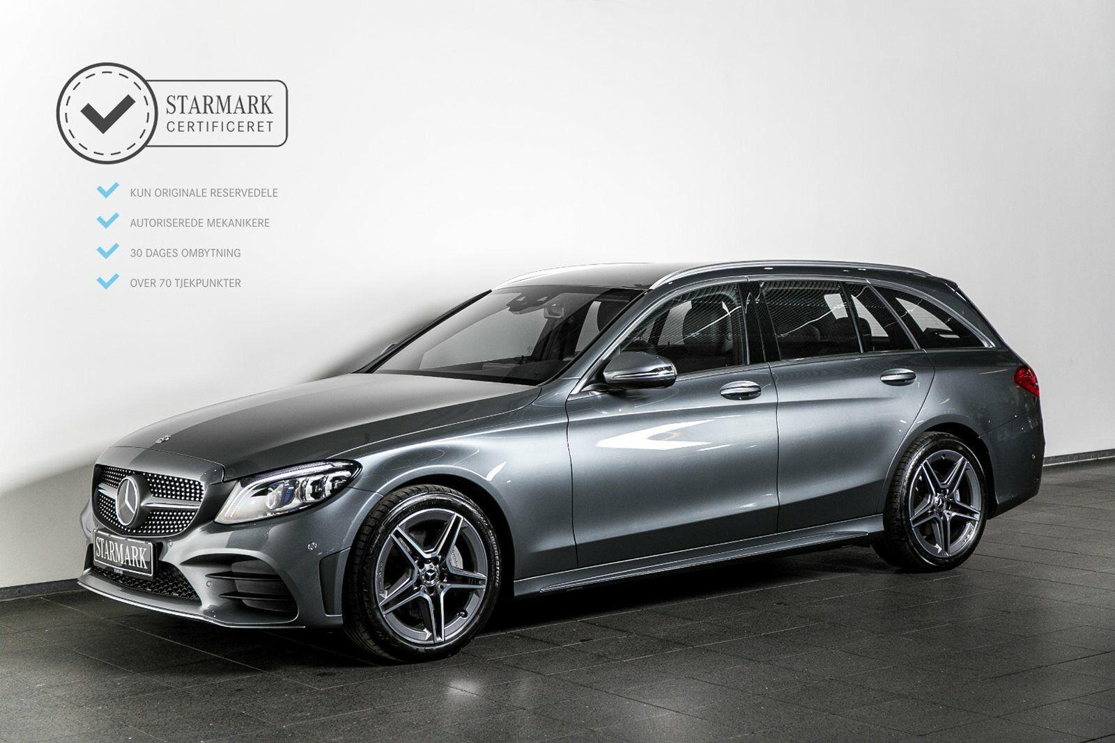 Mercedes C200 1,5 AMG Line stc. aut. 5d - 539.900 kr.