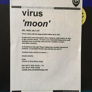 Virus-Moon-1997-UK-Vinyl-12-034-Perfecto-SAM1943-Promo-Mint-UNPLAYED