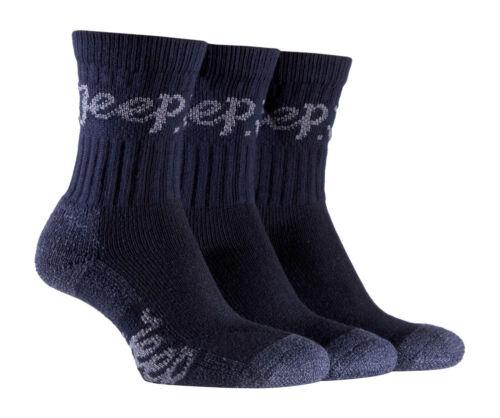 Womens Luxury Jeep Terrain Walking Hiking Socks 4-7 uk,37-42 eur,5-8 usa Navy