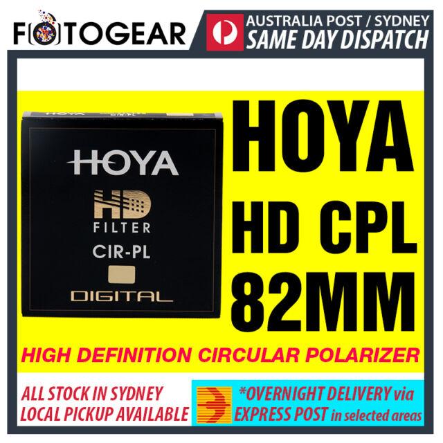 Genuine HOYA HD High Definition Density Circular Polarizer CPL 82mm EXPRESS POST