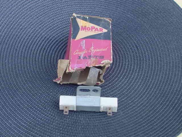 nos mopar 1956-1972 dodge ballast resistor 2095501 for sale online | ebay