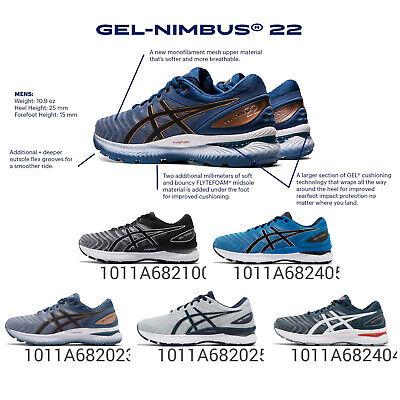 pequeño destilación Ropa  Asics Gel-Nimbus 22 4E Extra Wide Underpronation Men Road Running Shoes  Pick 1 | eBay