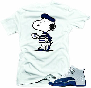 61c99df3887171 Shirt to match Air Jordan Retro 12 French Blue sneakers
