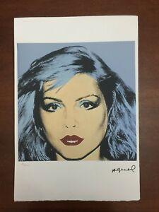 Andy-Warhol-Litografia-57-x-38-Arches-Sello-Seco-Castillos-De-Israel-AN569