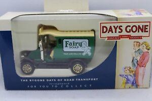 Lledo-Days-Gone-1912-Renault-Van-with-Fairy-Soap-decals