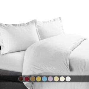 Ultra-Soft-Cotton-450-TC-Solid-Duvet-Cover-Set-Full-Queen-OR-King-Calking-Sizes