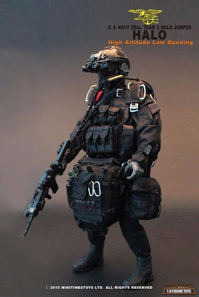 1/6 MiniTimes mini times US Navy SEAL Team 2 HALO Jumper MIB