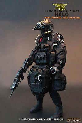 1/6 MiniTimes US Navy SEAL Team 2 HALO Jumper w Chute and more MIB