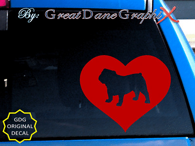 HIGH QUALITY French Bulldog #2  Vinyl Decal Sticker Color Choice