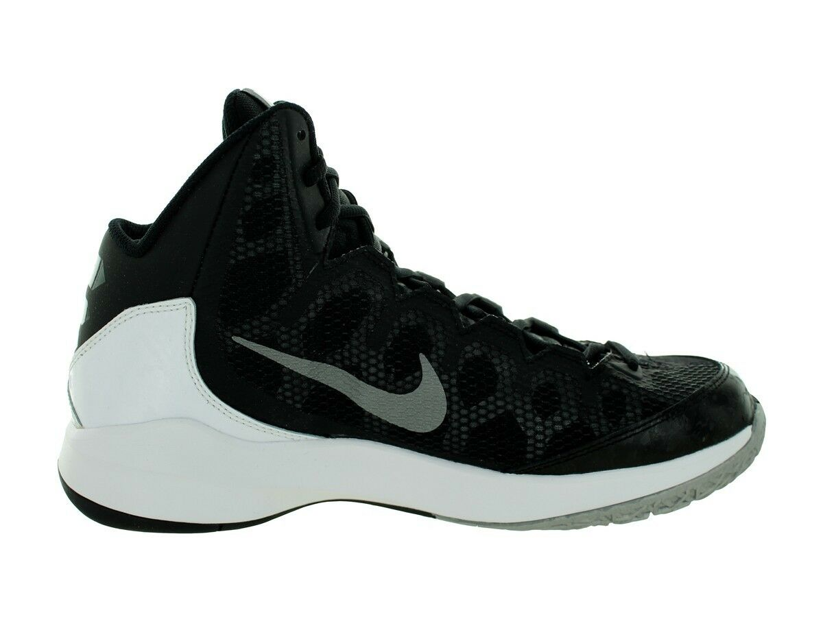 Wild casual shoes Nike ZOOM WITHOUT A DOUBT Mens 749432-002 Basketball Shoes BLK/Wh Comfortable