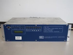 Details about Sel SEL-351 Directional Overcurrent Relay 035161H4554XX1 As Is