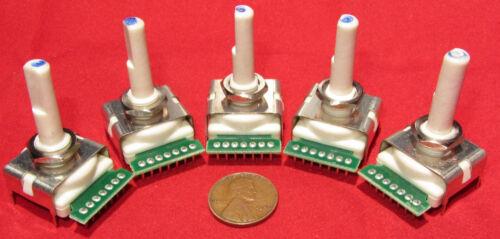 5 un. - Bourns 6 posición interruptor Giratorio continuo de rotación de 360 grados sp6t St6