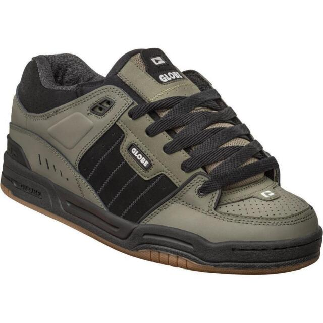 the latest eca3e bfa54 Scarpe Skate Globe Shoes FUSION Dusty Olive Black Uomo Donna Schuhe  Chaussures