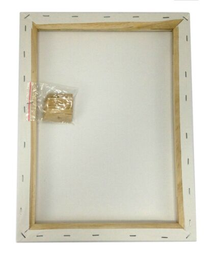 """Lot 2 ARTIST CANVAS 11x14/"""" Framed Pre-Stretched BLANK Cotton Double Gesso"""
