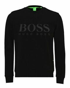 Men-039-s-Boss-Hugo-Boss-Relaxed-Fit-Logo-Sweatshirt-in-Different-Colour-and-Sizes