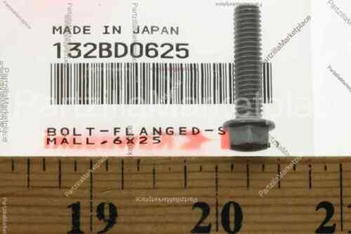BOLT-FLANGED-SMALL 6X Kawasaki 132BD0625
