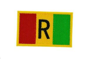 Patch-Embroidered-Badge-Flag-Backpack-Rwanda-Antique-Thermoadhesive