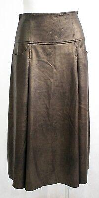 Thomas Rath Rock Gaucho Gr. 36 S Bronze Metallic festlich Taschen edel I268 Neu