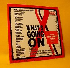 Cardsleeve Single cd ARTISTS AGAINST AIDS WORLDWIDE What's Going On 2TR 2001 pop