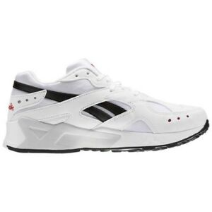 b9e41588f64 Image is loading Reebok-CN7187-Classic-Aztrek-Casual-shoes-white-black-