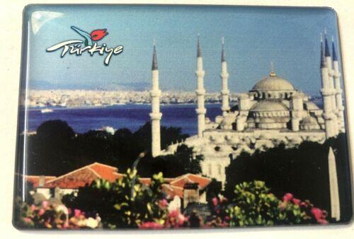 Kühlschrankmagnet Reiseandenken 291205 ISTANBUL-BLAU MOSCHEE-TÜRKEI Souvenir