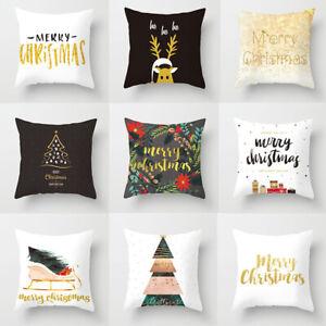 Christmas-Pillow-Case-Xmas-Cotton-Sofa-Throw-Cushion-Cover-Home-Decor-Gift