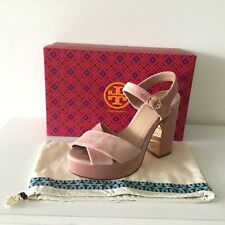582aff3cd85b07 item 4 NIB Tory Burch Loretta Velvet Platform Sandals Heel Light Pink Size  9 -NIB Tory Burch Loretta Velvet Platform Sandals Heel Light Pink Size 9