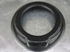 Audi TT TTS Late Models Carbon Fiber Steering Wheel Center Cover