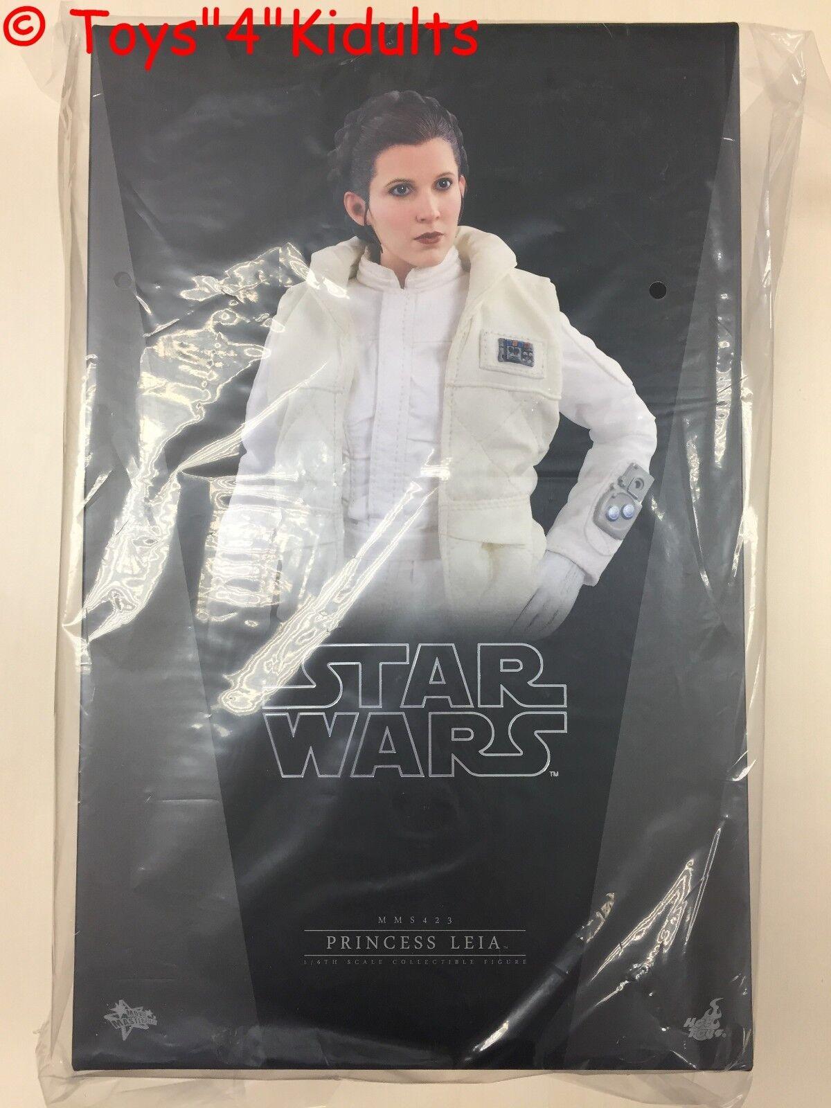 marca Hot Toys MMS 423 Star Wars Wars Wars Imperio Contraataca La Princesa Leia Carrie Fisher Nuevo  solo cómpralo