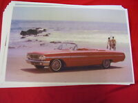 1964 Ford Galaxie 500 Xl Convertible Red 11 X 17 Photo Picture
