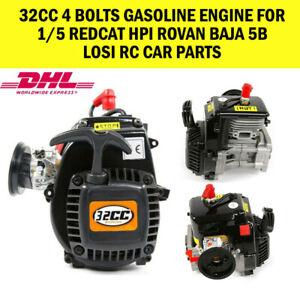 32cc-4-Bolts-Gasoline-Engine-for-1-5-Redcat-HPI-Rovan-Baja-5b-LOSI-Rc-Car-Parts