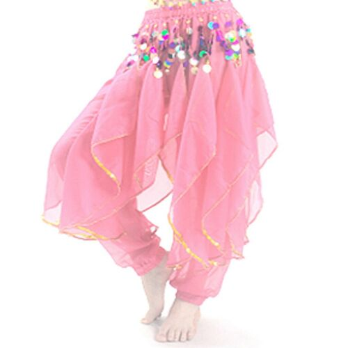 Belly Dance Costume Bloomers Pants Trousers Festival Cosplay Fancy Wavy Pants